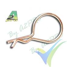 Body clip 26mm A2Pro 8970, 10 pcs