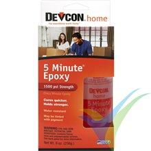 Adhesivo epoxy 5 min Devcon en bote dosificador, 256g