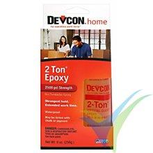 Adhesivo epoxi 30min Devcon 2-Ton en bote dosificador, 256g