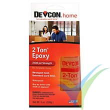 Adhesivo epoxy 30min Devcon 2-Ton en bote dosificador, 256g