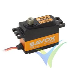 Servo digital Savox SV1250MG HV, 29.6g, 8Kg.cm, 0.095s/60º, 6V-7.4V