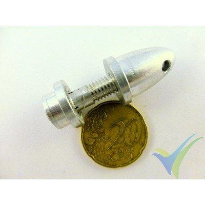 Portahélices de pinza GEMFAN, eje motor 4mm