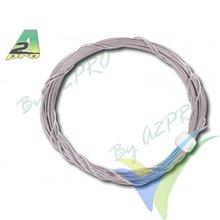 Cable acero trenzado Ø0.5mm,A2Pro 6278, 2m
