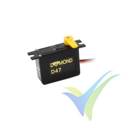 Servo Dymond D47, 4.7g, 1.12Kg.cm