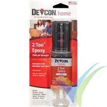 Adhesivo epoxy 30 min Devcon 2-Ton en jeringa 25ml