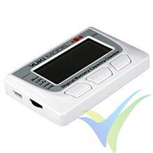 Comprobador de baterías - Servotester - Equilibrador Yuki Model 700225
