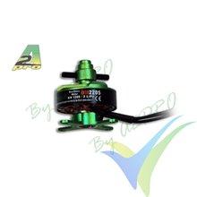 Motor brushless Pro-Tronik/Motrolfly DM 2205, 28g, 80W, 1200Kv