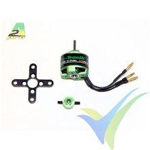 Motor brushless Pro-Tronik/Motrolfly DM 2210-1400, 42g, 120W, 1400Kv