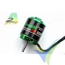 Motor brushless Pro-Tronik/Motrolfly DM 2215-3500, 53g, 220W, 3500Kv