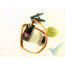 TowerPro MG90D digital servo, 13g, 2.4Kg.cm, 0.08s/60º, 4.8V-6V