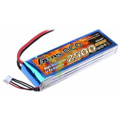 Batería LiPo Gens ace 2500mAh (27.75Wh) 3S1P 25C 237.2g