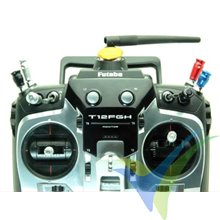 Capuchón aluminio 21mm para interruptor de emisora, taladro 5.5mm, azul