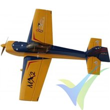 Kit avión GB-Models MX2 1.3m ARF Yellow/Blue, 1320mm, 1570g