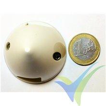 Cono plástico blanco GEMFAN 45mm, base de plástico, 14.7g