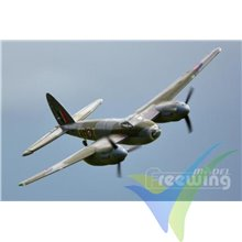 Combo avión Freewing de Havilland DH.98 Mosquito PNP, 1400mm, 1900g
