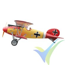 Combo avión Dynam Albatros DVA WWI 1270mm, 1600g
