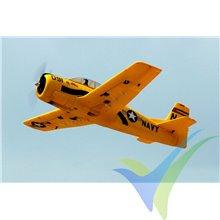 Combo avión Dynam T28 Trojan 1270mm, 1350g