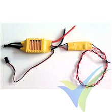 GEMFAN 50A brushless ESC + separate 5A UBEC, 2S-7S, 53g