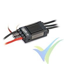 Graupner CONTROL +T60 ESC, 60A, 5S-12S, OPTO, 116g