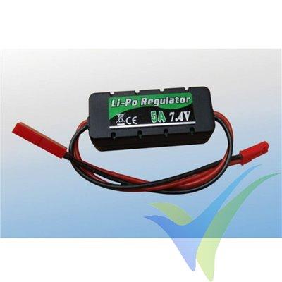 BEC Prolux LiPo Regulator, 5A, 3S-6S 7.4V