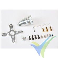 Motor brushless Graupner COMPACT 345Z, 105g, 148W, 1500Kv