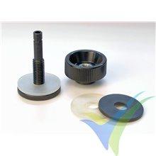 Conexión de vacío para bolsa y manguera 6mm Ø int, resiste hasta 180 °C