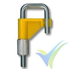 Estrangulador para mangueras de vacío hasta 10mm, amarillo