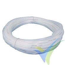 Manguera de vacío, diámetro 6/8mm, rollo 5m
