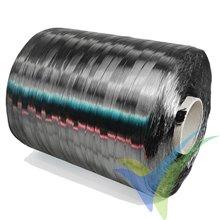 Mecha fibra carbono Sigrafil C30 T050 EPY 50K, 3300 tex, bobina 20m, 66g