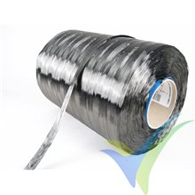 Mecha de fibra de carbono Sigrafil C30 T050 EPY 50K, bobina 20m, 66g