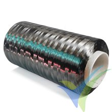 Mecha de fibra de carbono Tenax STS40, 24k, 1600 tex, bobina 20m