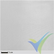 Glass fabric 49 g/m² (plain) 110 cm, pack/ 2 m Finish FE 800 (surface area = 2,20 m²)
