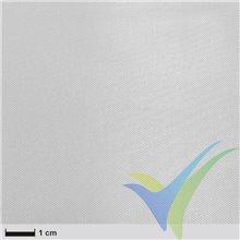 Tela de fibra de vidrio 49g/m², tejido liso, silano, paquete 110cm x 2m