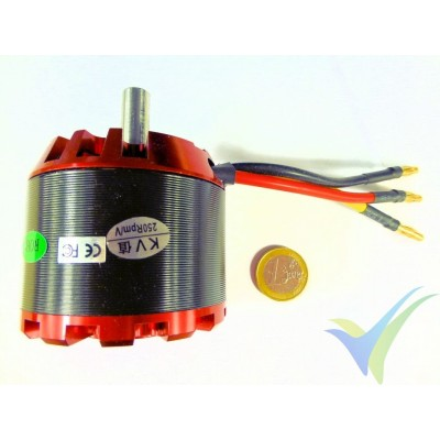 Motor brushless EMP N6354/13, 250 Kv