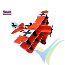 Kit avión triplano Crack Fokker Dr.1 Red Baron