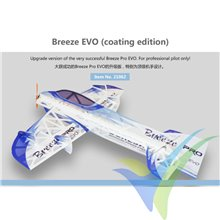 Kit avión indoor Dualsky Breeze EVO mylar, 780mm, 110g