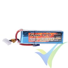 Gens ace 2200mAh 22.2V 45C 6S1P Lipo Battery Pack