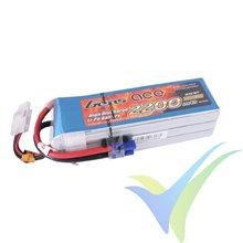 Batería LiPo Gens ace 2200mAh (48.84Wh) 6S1P 45C 380g EC3