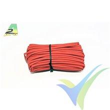 Tubo termorretráctil 2mm rojo, A2Pro 160021, 1m