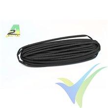 Tubo termorretráctil 3mm negro, A2Pro 160032, 1m