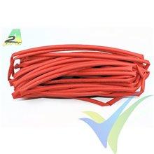 Tubo termorretráctil 5mm rojo, A2Pro 160051, 1m
