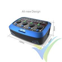 Cargador SkyRC Quattro para micro baterías LiPo, AC/DC, 4x4W