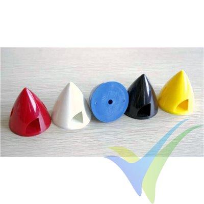 Cono plástico negro GEMFAN 63mm, base de plástico