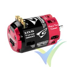 Team Corally - Dynospeed SPEC 3.0 - 1/10 Sensored 2-Pole Competition Brushless Motor - Stock - 10.5 Turns - 3600 KV