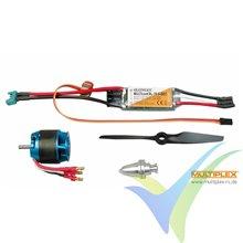 Kit de propulsión Multiplex 332647 FunJet Ultra