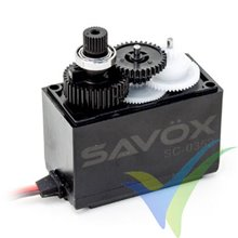 Servo digital Savox SC-0352, 42g, 6.5Kg.cm, 0.11s/60º, 4.8V-6V