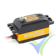 Servo digital Savox SC-1252MG, Low Profile, 44.5g, 7Kg.cm, 0.07s/60º, 4.8V-6V