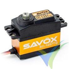 Servo digital Savox SC-1257TG, 52.4g, 10Kg.cm, 0.07s/60º, 4.8V-6V