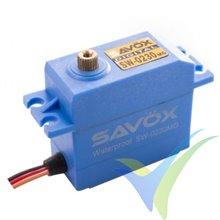 Servo digital Savox SW-0230MG, waterproof HV, 60g, 8Kg.cm, 0.13s/60º, 6V-7.4V