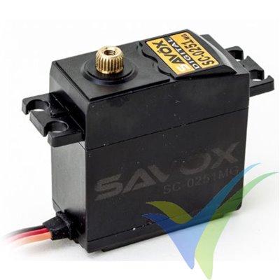 Servo digital Savox SC-0251MG, 61g, 16Kg.cm, 0.18s/60º, 4.8V-6V